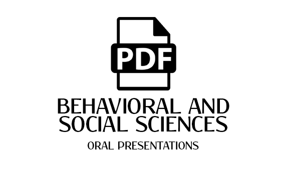 Behavioral and Social Sciences